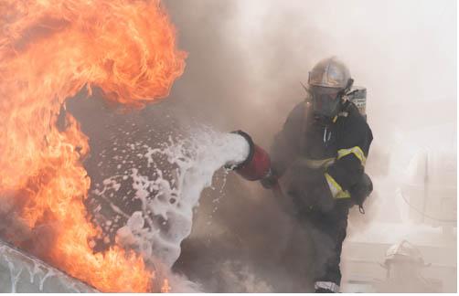 Mousse anti incendie